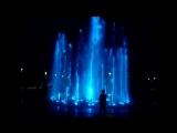 Цветной, музыкальный фонтан в моём городе
