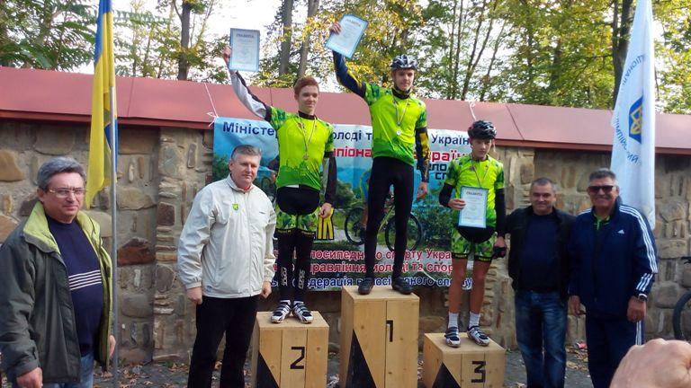 Чимало буковинців перемогли на Чемпіонаті України з велоспорту в Чернівцях