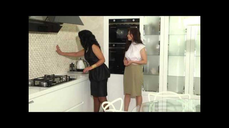 Дизайн белой кухни. Гостевая комната. Анара Закенова