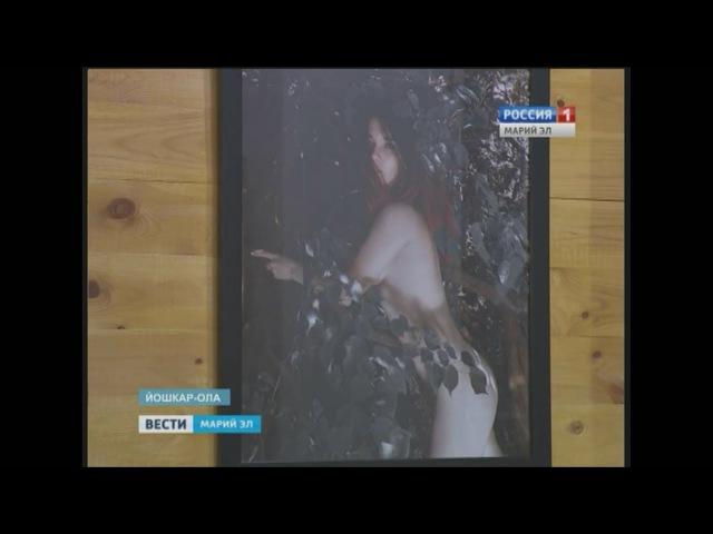 Репортаж канала Россия 1 с выставки St Pershin Первое обнажение