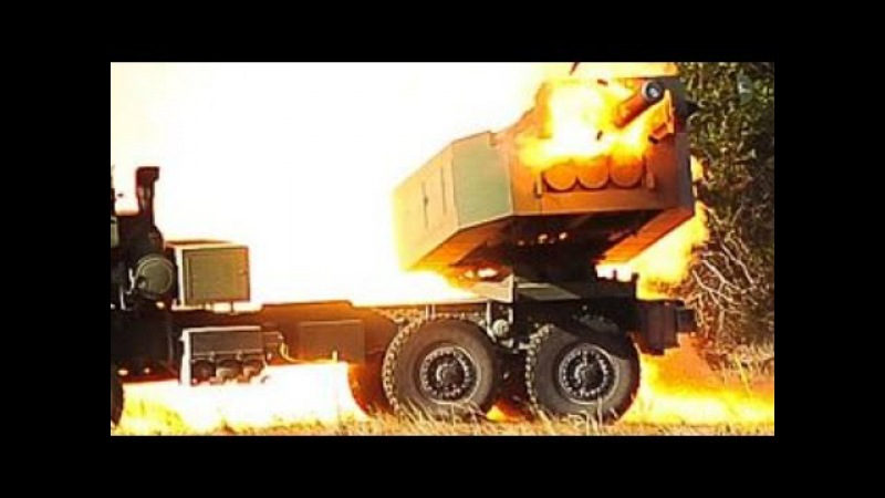 HIMARS LIVE FIRE training! (High Mobility Artillery Rocket System LAUNCH STRIKE IMPACT footage!)