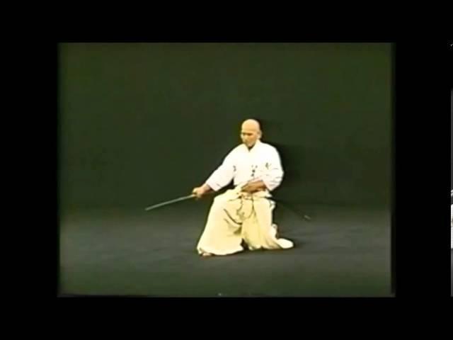 Hakuo Sagawa - Seitei Iaido (detailed)