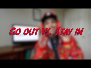 Go out vs. Stay in - Daily Phrasal Verbs - Learn English online free video lessons