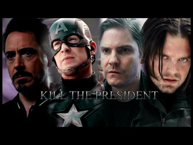 Tony Steve Bucky kill the president