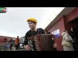 Необычный музыкант в петербургском метро