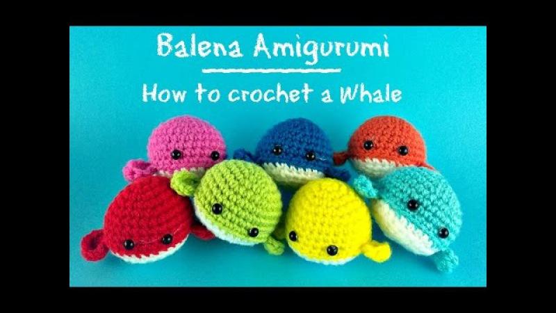 Piccola Balena Amigurumi How to crotchet a little whale