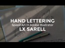 Speed Art Digitizing of Hand Lettering in Adobe Illustrator Alex Sarell