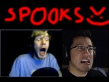 Funny Scary Moments Of PewDiePie, Markiplier