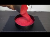 How To Make a Watermelon Cake (6 sec)