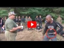 Russian SPETSNAZ Martial Art Colonel Mikhail Ryabko Possession of a knife