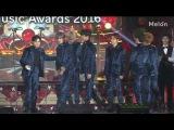161119 Melon Music Awards 멜론 뮤직어워드 EXO Male Group Dance Award