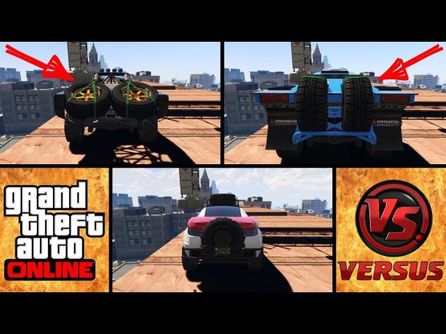 GTA 5 | Vapid Desert Raid vs Vapid Trophy Truck vs Coil Brawler | Сравнение Авто