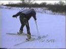 Тюмень Воронинские горки Как учились кататься на горных лыжах