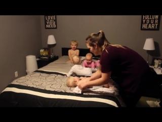 Мастер-класс от супермамы: как быстро и весело уложить спать 4 детей!
