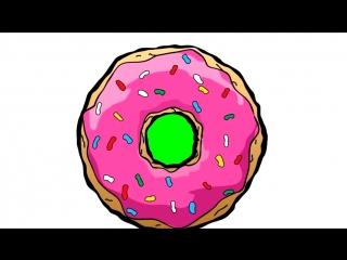 ПЕРЕХОДЫ: популярная геометрия, пончик, айфон