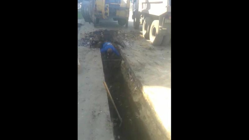 Моршанск(канализация диаметром 250 протяженностью 220метров)