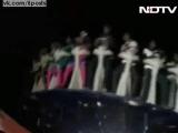 Аттракцион Диско сломался во время испытаний сотрудниками парка  Watch Disco Dancer, Tamil Nadu theme park ride, crash. 1 dead