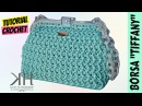 Tutorial uncinetto borsa Tiffany | Punto zig zag || Katy Handmade