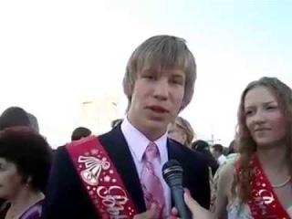 Иван Дорн на своём выпускном обращается к будущим выпускникам (2007 год) [Рифмы и Панчи]