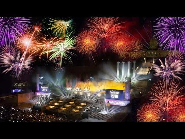 Happy new year BARCELONA 2017 || Nuevo ano 2017