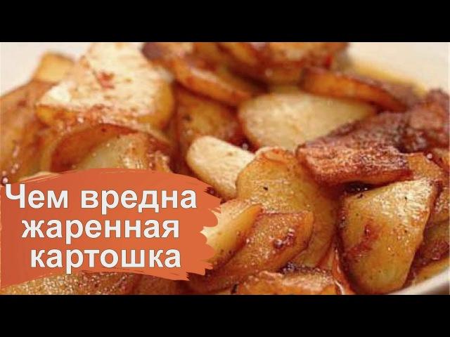 Чем вредна картошка жаренная для организма человека
