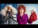 Куклы Барби принцессы, платья вышитые бисером бусами. Обзор дизайнов