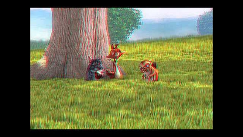 BIG BUCK BUNNY 3D ANAGLYPH VERSION HIGH QUALITY 3D ANAGLYPH VIDEO ANIMATION MOVIE