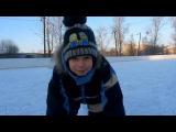Как научить ребёнка кататься на коньках. Самый простой способ.