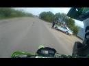 №2 Kawasaki klx 250 , irbis TTR250, enduro покатушка (Первая встреча с ДПС)