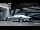 Концепткар Mercedes IAA в аэродинамической трубе
