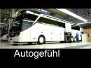 How Daimler/Mercedes busses are built: Setra EvoBus production plant assembly Ulm - Autogefühl
