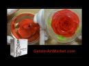 How to make Gelatin Art flowers - Gelatin Art Starter Kit 1 by Gelatin Art Market