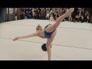 Соревнования по художественной гимнастике Снежные принцессы 2016. Часть 1. Разминка, выступления