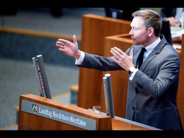 Wutrede FDP Chef Lindner rechnet mit der AfD ab