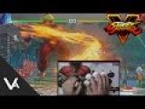 Street Fighter V - How To Do Hadouken Motions When Walking Forward