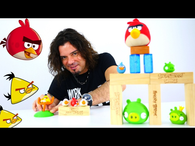 Angry Birds izle! Kızgın Kuşlar kurtarma operasyonu. Domuzcuklar hırsız çıktılar. Çizgi filmi