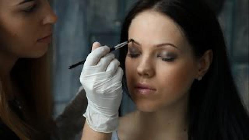 Окрашивание бровей хной SEXY Brow Henna