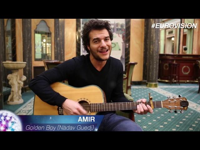Amir - Cover 'Golden Boy' (Nadav Guedj) - Eurovision 2016