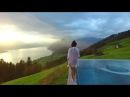 MUST SEE LUXURY HOTEL Incredible villa honegg Switzerland dji phantom 3 drone video