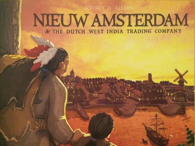 Играем в настольную игру Nieuw Amsterdam (Новый Амстердам)