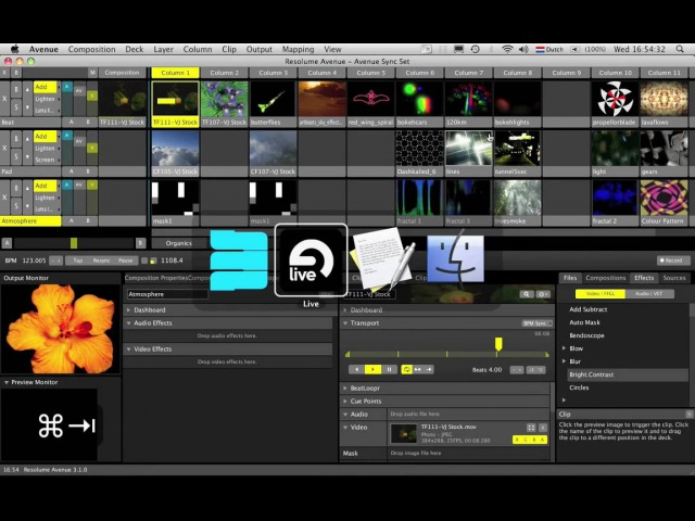 Resolume Avenue Ableton Live MIDI Sync