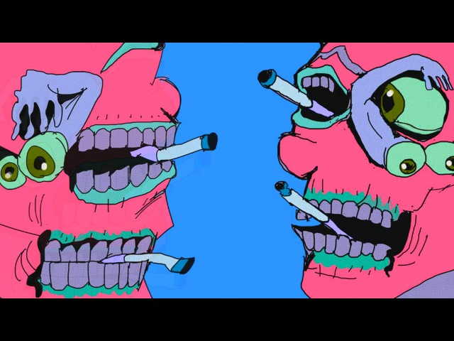 Perforated Cerebral Party ASSSA animation by Dax Norman somatik