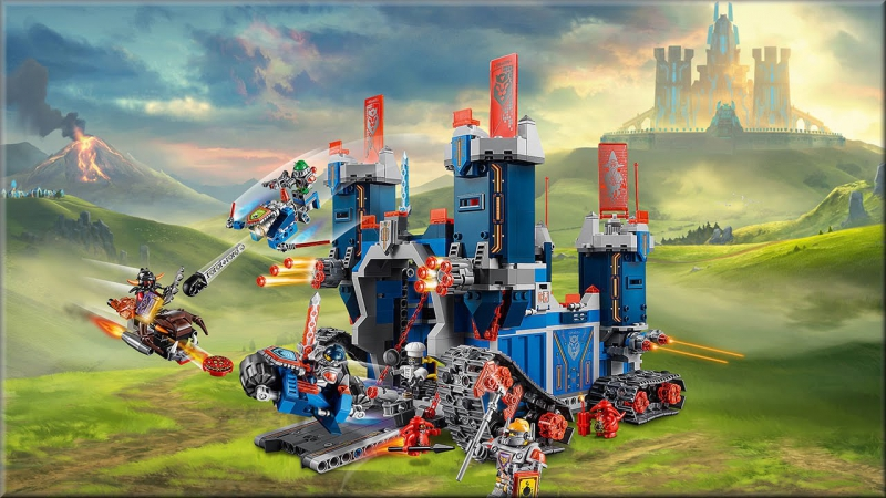 Фортрекс мобильная крепость LEGO Nexo Knights 70317 Обзор.