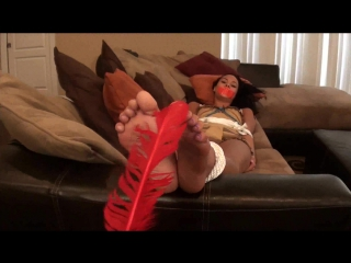 Babysitter Tickled amd Tied