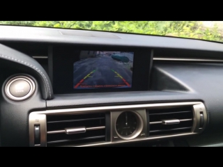Камера заднего вида Lexus IS 2013-2017