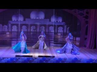 7. «Русалки» - Студия восточного танца «Гюльчатай» группа «Жемчуг» г. Москва