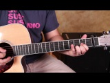 How to Play I walk the Line by Johnny Cash - Acoustic Guitar Songs - Lessons