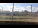 Прибытие на станцию Нежин на ЭР9Е-629.