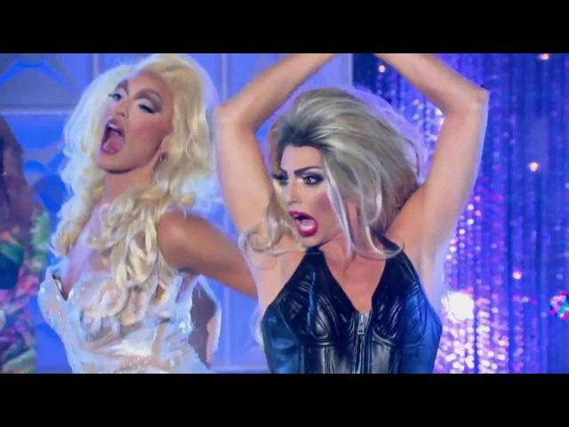 Rupaul's Drag Race All Stars Season 2 - LipSync: Alyssa Edwards vs Tatianna [FULL HD/60FPS]