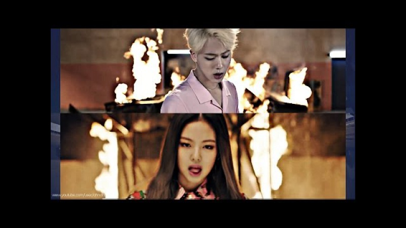 BTS BLACKPINK Playing With FIRE '불장난X불타오르네' MASHUP